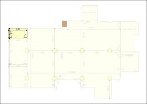 応接室平面図