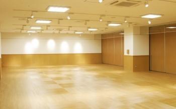 小ホール平面図