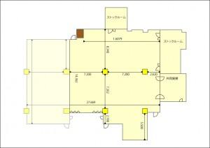 中ホール平面図