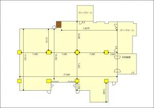 大ホール平面図