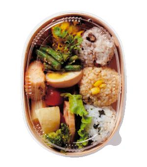 野菜10品目のお弁当