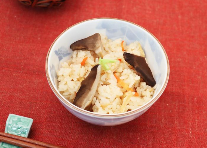 黒あわび茸の炊き込みご飯