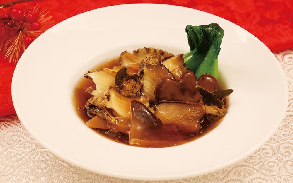 黒あわび茸の黒アワビ煮